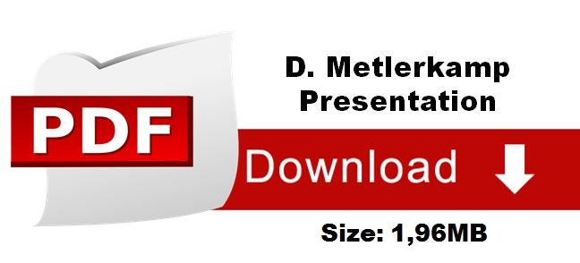 download d metlerkamp presentation